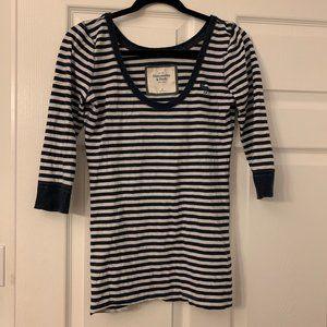 Abercrombie & Fitch Striped Shirt Size Medium